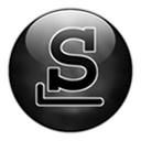 Slackware logo black
