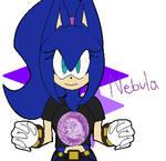 Nebula the Hedgehog by SilvstheHedgie