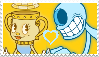 Cuphead-Legendary Chalice x Blind Specter Stamp by Fazbear14
