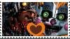 FNAF-Molten Freddy x Scrap Baby Stamp by Fazbear14