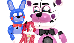 Ship #136 Funtime Freddy x Circus Baby by KingKRool14