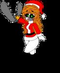 FNAF-Christmas Scrap Baby Render