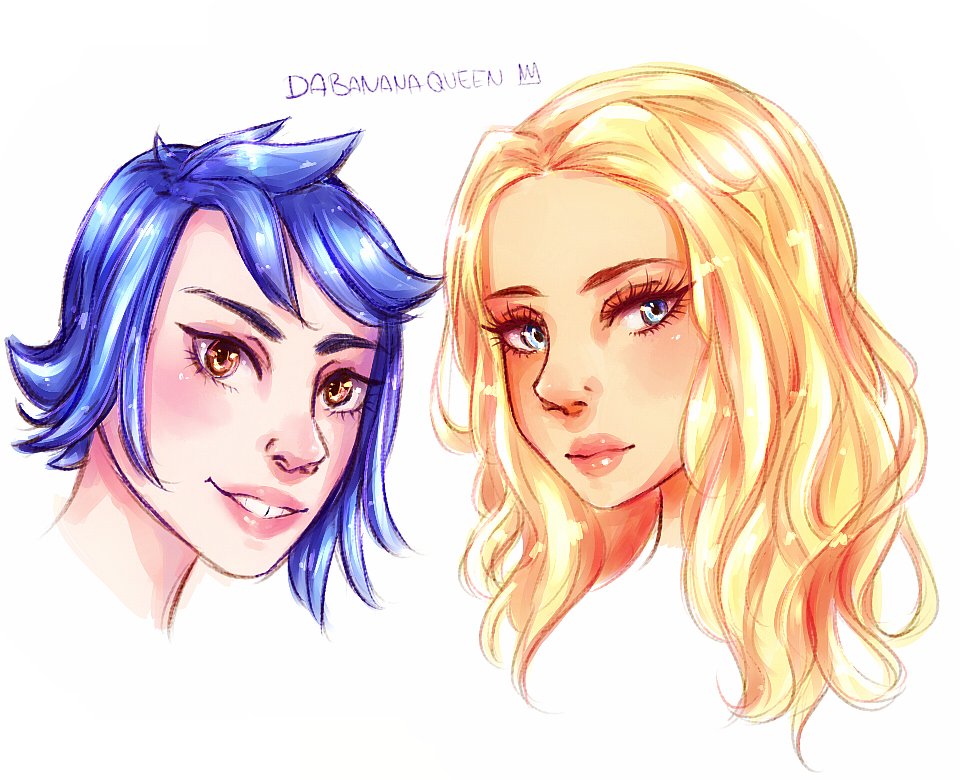 Stardew Valley Emily and Haley by DaBananaQueen on DeviantArt