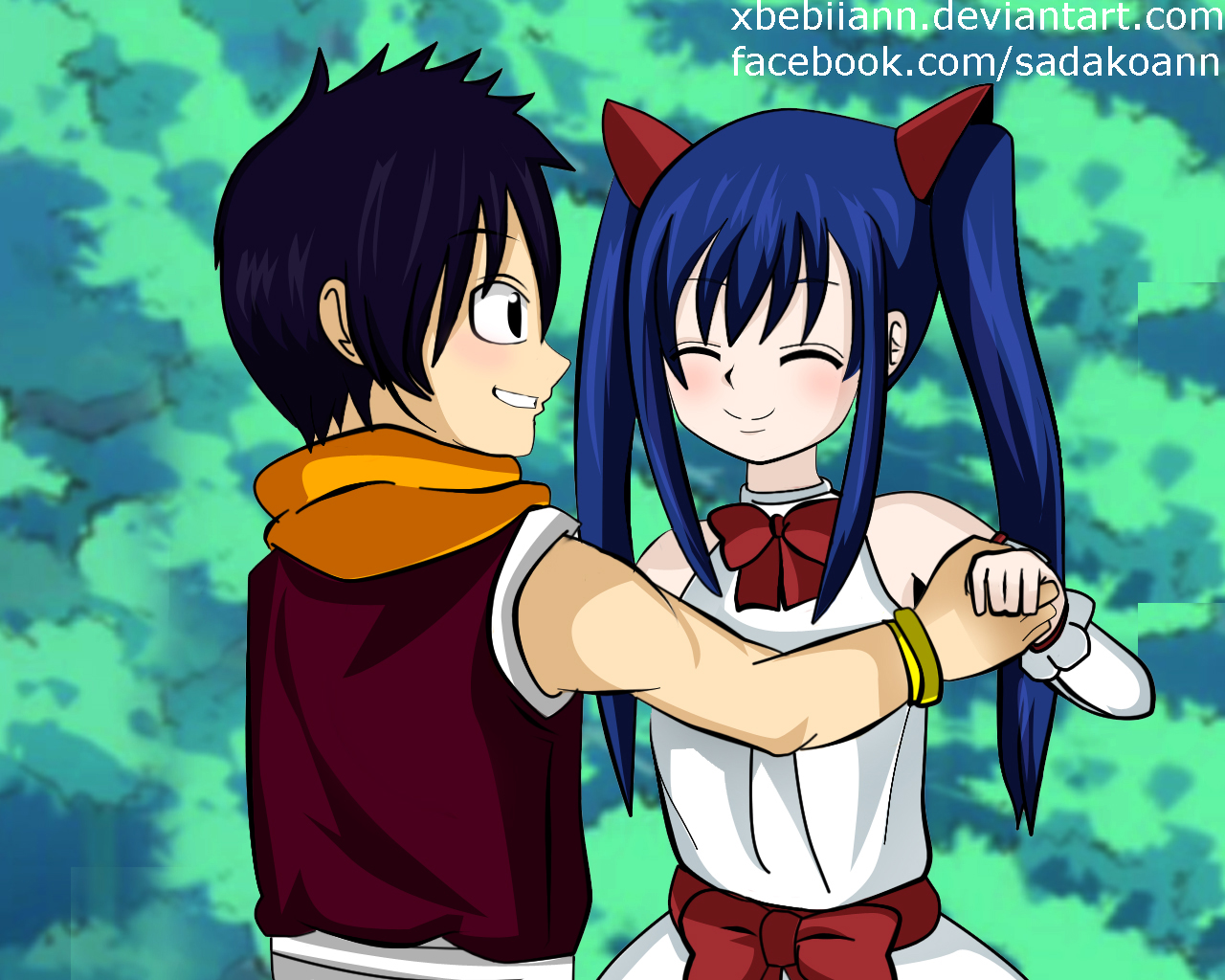 Fairy tail romeo and wendy