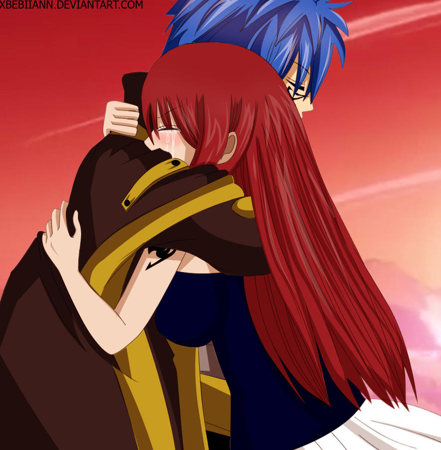 Fairy Tail Drawings Erza Erza and Jellal - Fair...