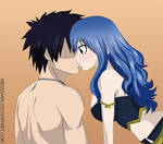Gray and Juvia (Kiss) - Fairy Tail