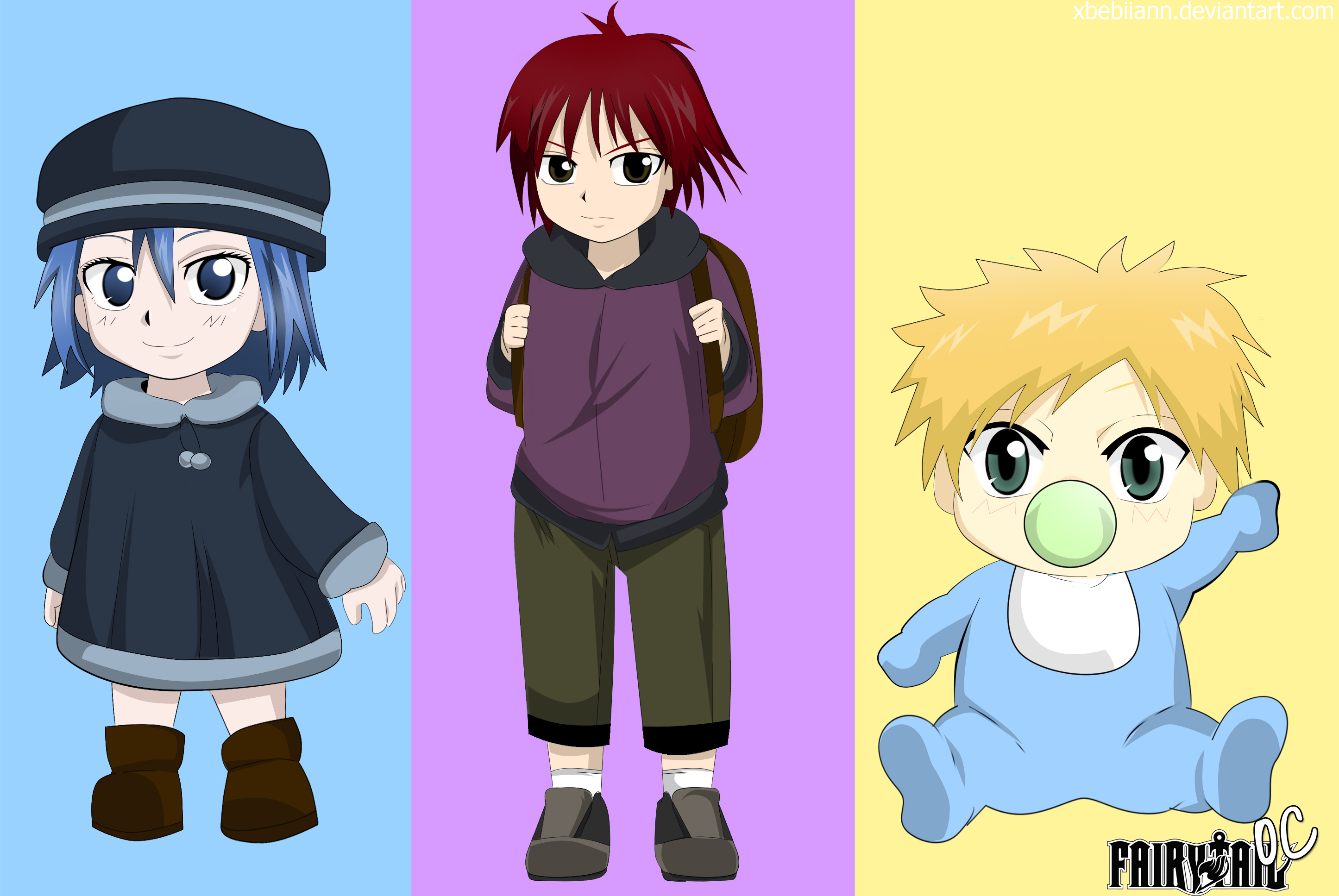fairy tail oc fairy kids xd read description by
