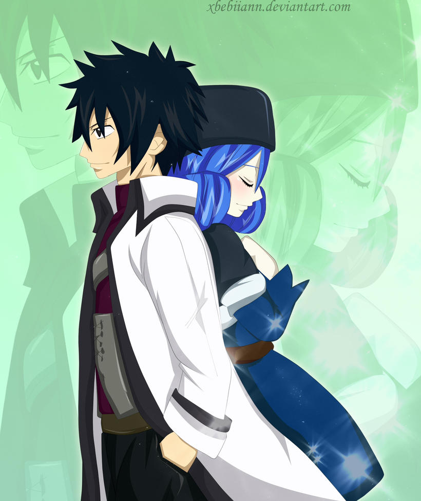 LIGHTS Gray X Juvia Fairy Tail By XBebiiAnn