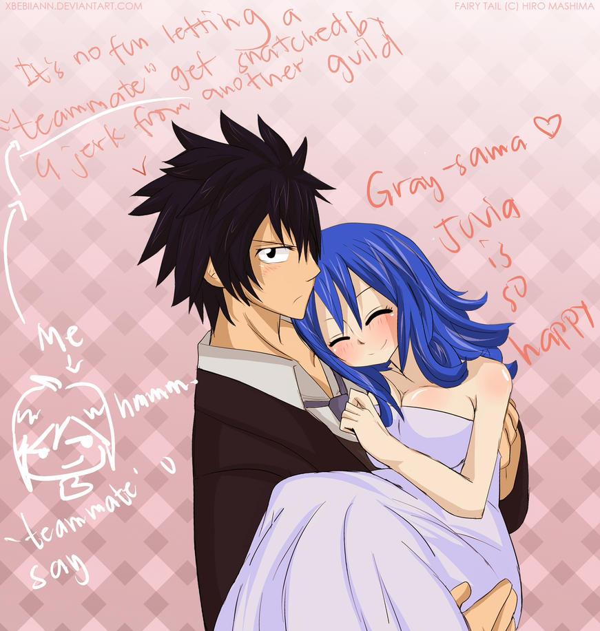 (Fairy Tail) Wedding Dress :Gruvia By XBebiiAnn On DeviantArt