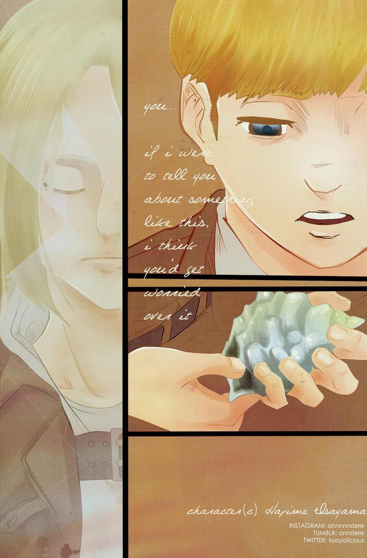 [AOT CHAPTER 106] Armin x Annie by xBebiiAnn
