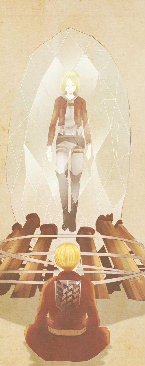 [SHINGEKI NO KYOJIN CHAPTER 106] Armin x Annie by xBebiiAnn