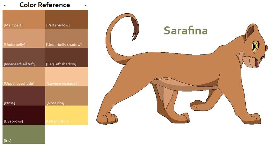 sarafina roi lion