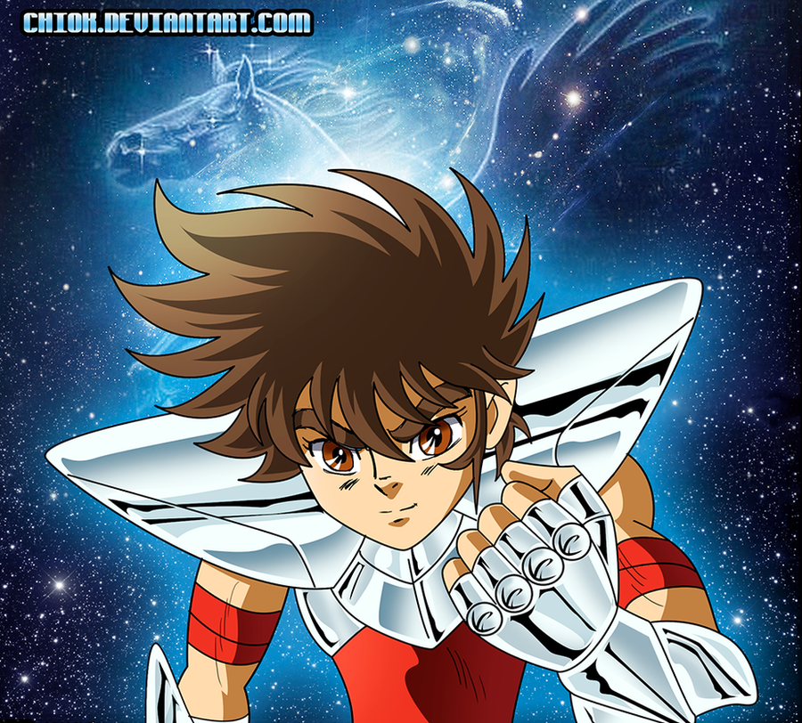 Seiya Blue Forever By Chiok On DeviantArt