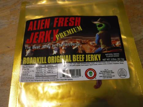 Las Vegas Roadkill alien FLESH