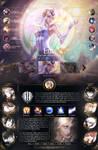 League of Legends : Lux Profile Layout