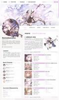 Granblue Fantasy : Narmaya Profile Layout