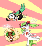 Late-for-school-pokemon-chans
