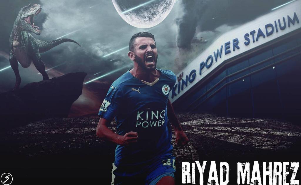 Riyad Mahrez By Shehabemad98 On DeviantArt