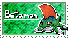 Betamon Stamp by Thunderbirmon