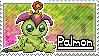 Palmon Stamp by Thunderbirmon