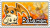 Patamon Stamp by Thunderbirmon