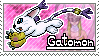 Gatomon Stamp by Thunderbirmon