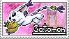 Gatomon Stamp by Thunderbirmon