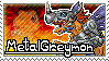 MetalGreymon Stamp by Thunderbirmon