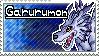 Garurumon Stamp by Thunderbirmon