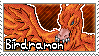 Birdramon Stamp by Thunderbirmon