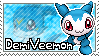 DemiVeemon Stamp by Thunderbirmon