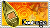Crest of Courage Stamp by Thunderbirmon
