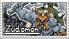 Zudomon Stamp by Thunderbirmon