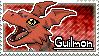 Guilmon Stamp by Thunderbirmon