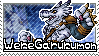 WereGarurumon Stamp by Thunderbirmon