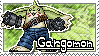 Gargomon Stamp by Thunderbirmon