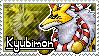 Kyubimon Stamp by Thunderbirmon