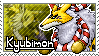 Kyubimon Stamp by Thunderbirmon