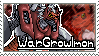 WarGrowlmon Stamp by Thunderbirmon