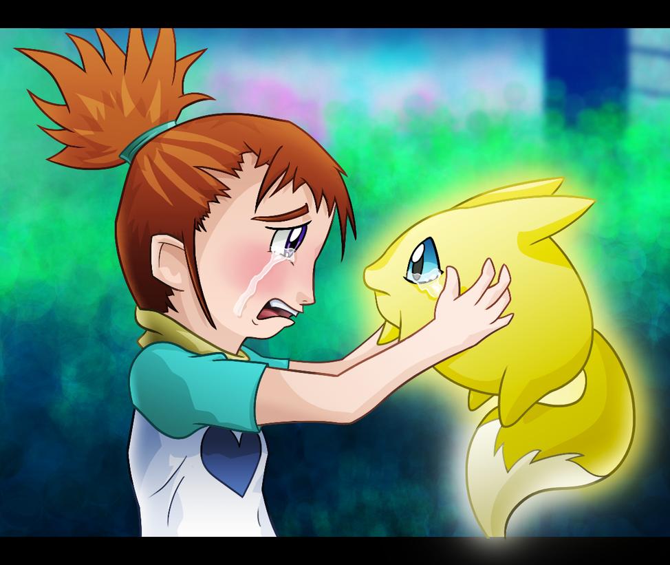 Don't go!!! by Thunderbirmon