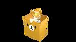 Box Rilakkuma Dl