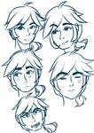 Len Sketching time by Espirea