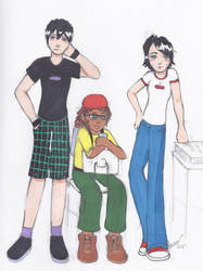 Gender-bend: Danny Phantom and Friends