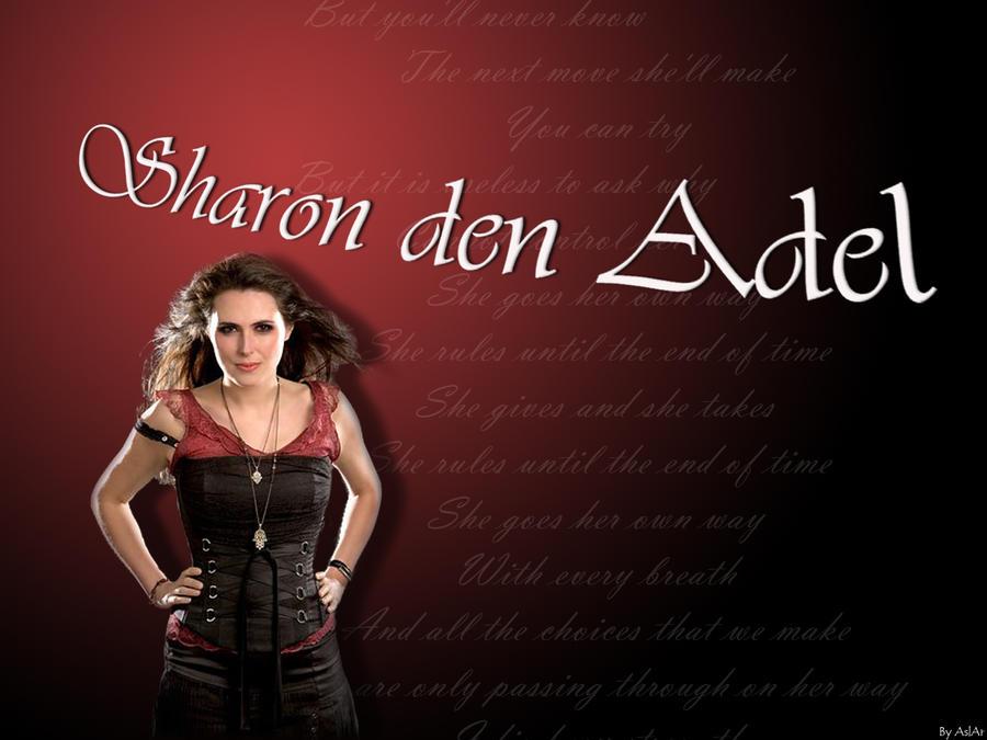 Sharon Den Adel Wallpaper By Asea Aranion On Deviantart