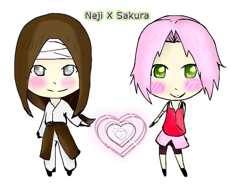 Neji X Sakura by SakuraHaruno178