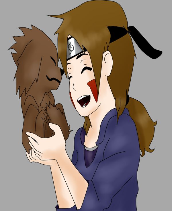 NG Botan and Kiki, her dog. by SakuraHaruno178