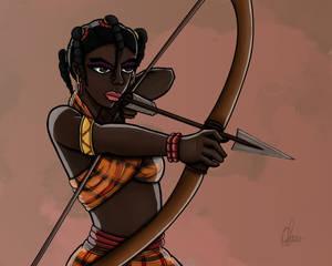 African Igbo princess