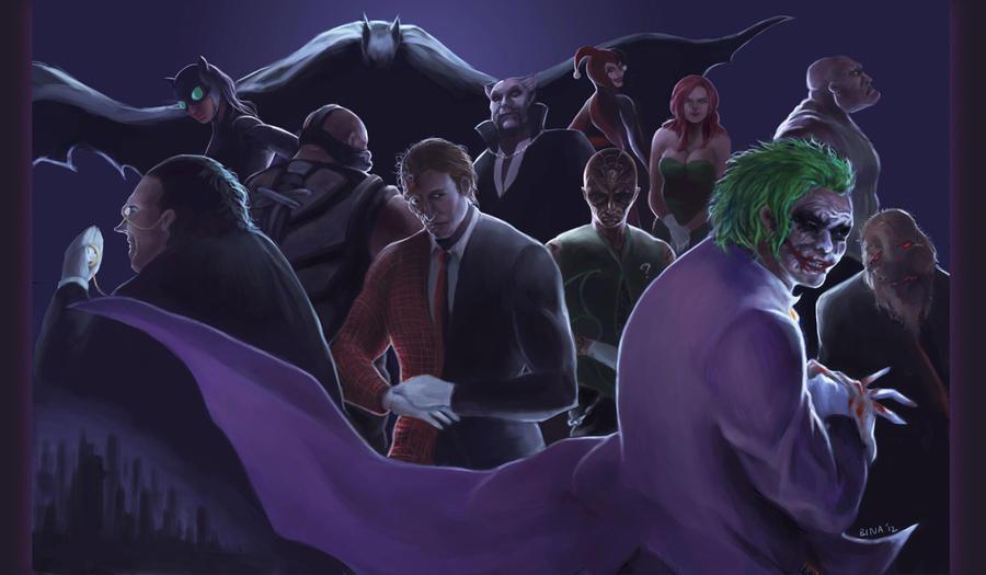 Gotham's Finest Criminal by Brainiday