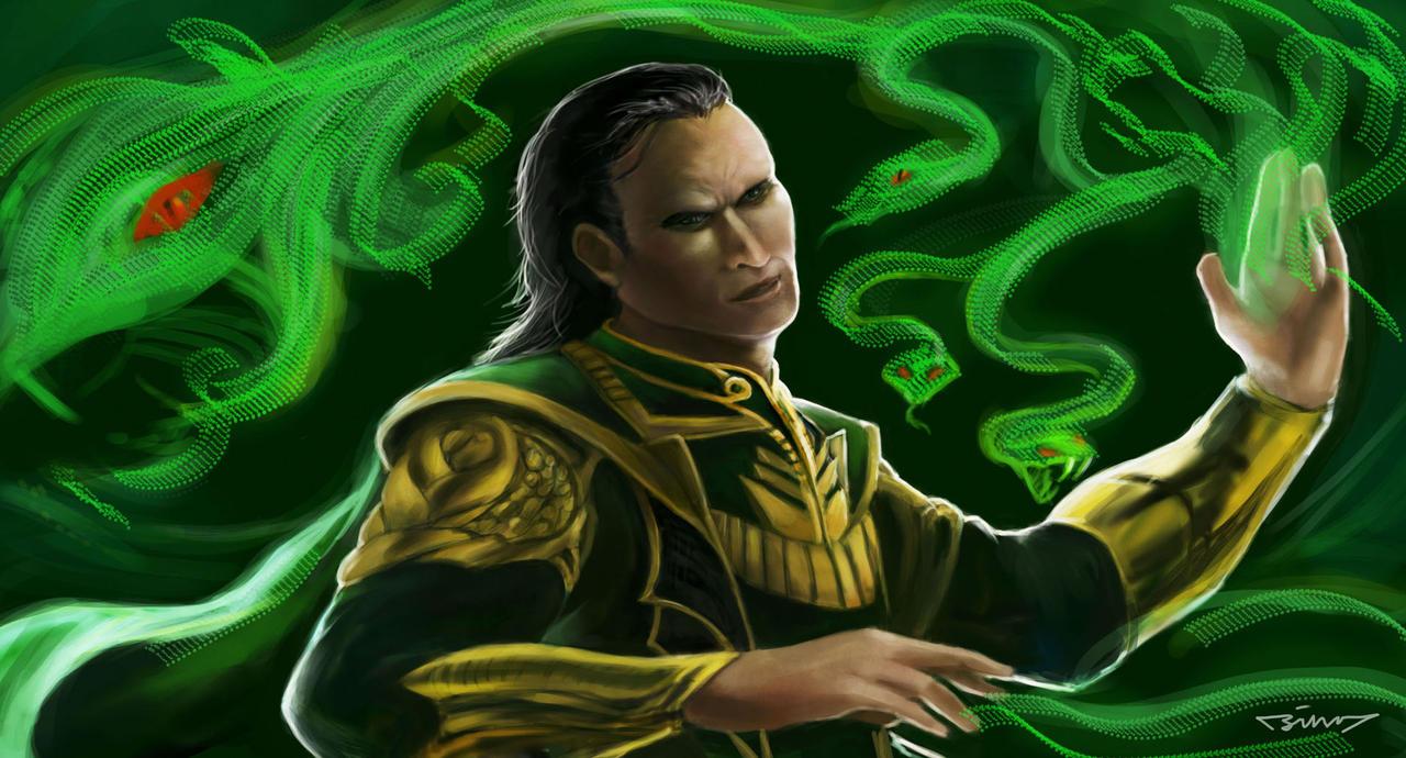 Loki - God of Mischief by Brainiday on deviantART