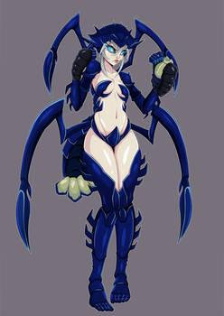 Crustacean Girl, justinianknight Edition